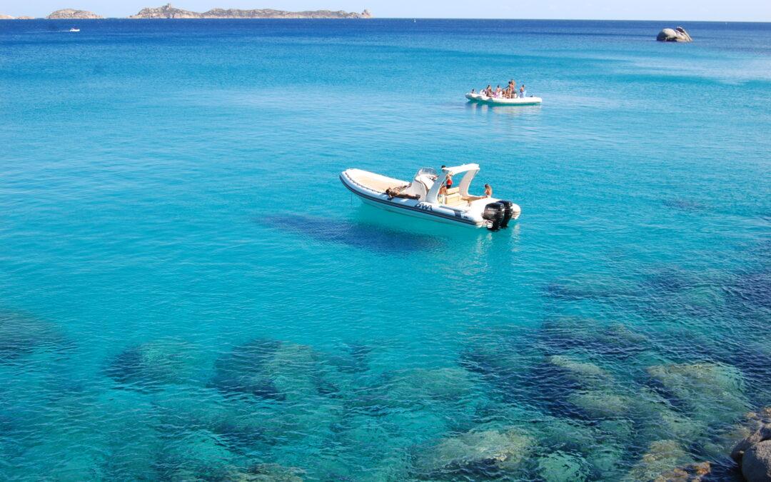 Rent raft boat Villasimius Sardinia