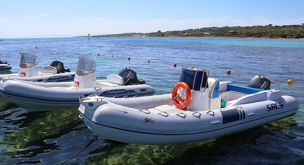 Rent rafts Sardinia Stintino