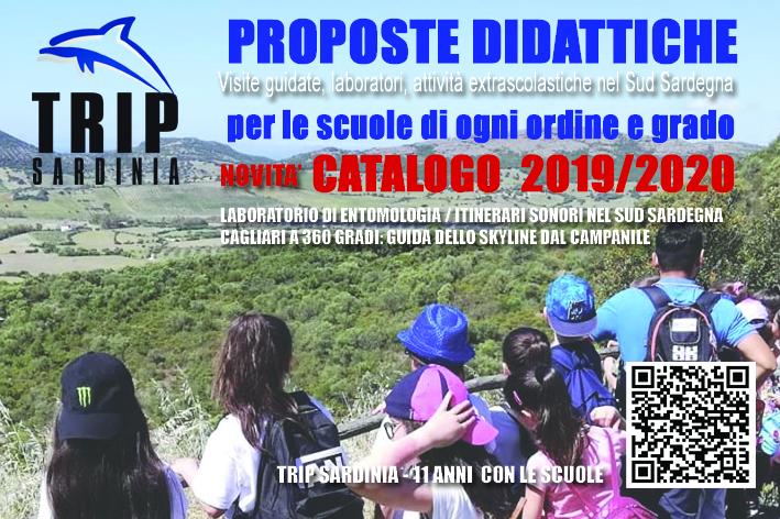 Online il nuovo catalogo Trip Sardinia delle proposte didattiche per le scuole
