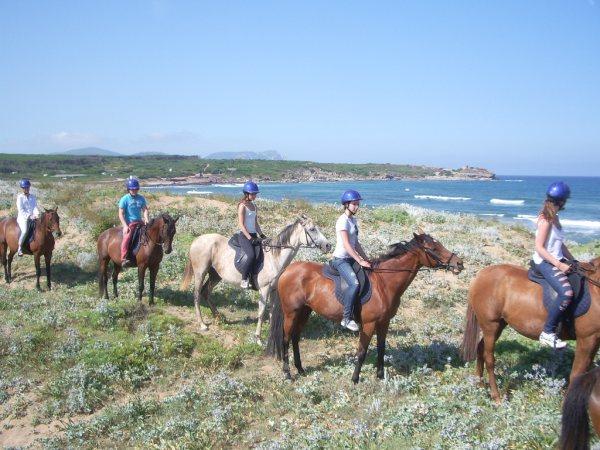 escursioni cavallo san teodoro